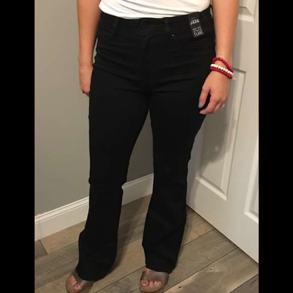 033991afeb3382 YMI Jeans | Nwt Luxe Lift High Rise Black Flare | Poshmark